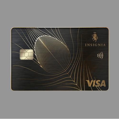 Premium credit card design