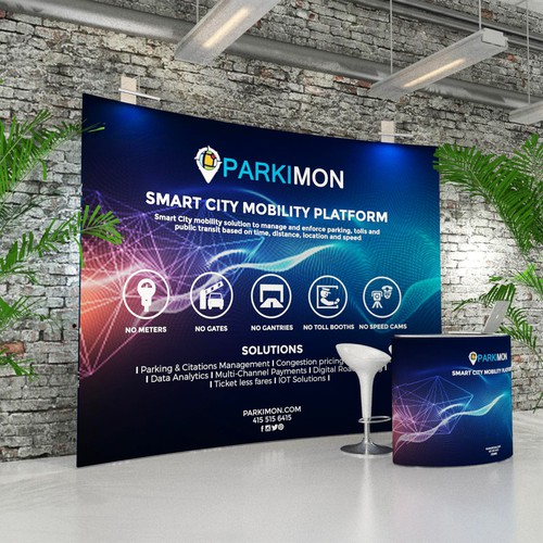 Parkimon Trade Booth Design