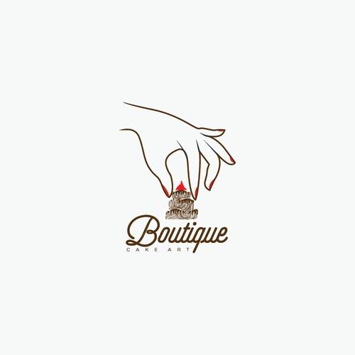 Unique Logo For Boutique Cake Art
