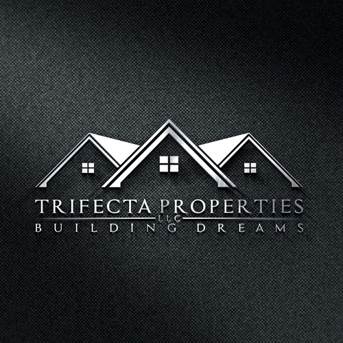 Create a luxurious and captivating logo for Trifecta properties