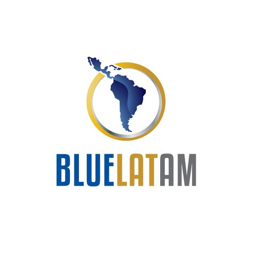 Create the next logo for Bluelatam