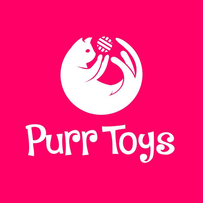 Logo for a cat toys company