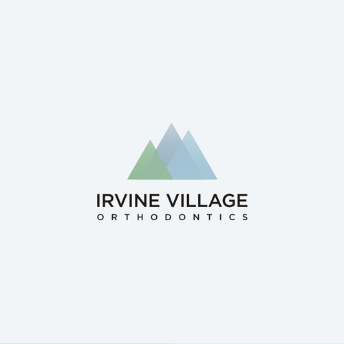 Design a clean, unique and eye-catching logo for Irvine Village Orthodontics.