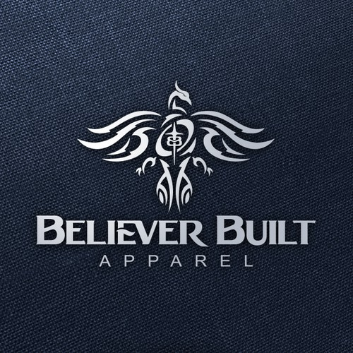Young Adult Christian Apparel Logo for Believer Built Apparel
