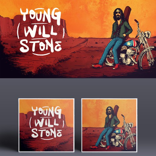 Young Will Stone Album Cover