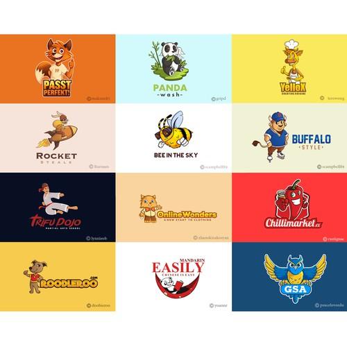 Logo mascots - Grid 1