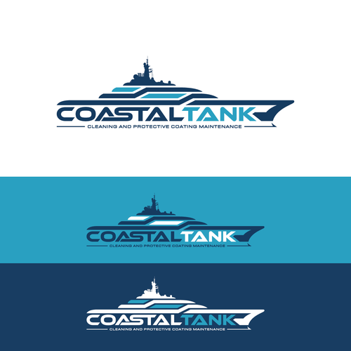 Coastal Tank needs a stand-out logo for the MEGA YACHT industry!
