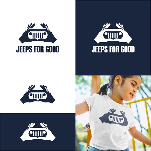 Logo for jeep club charity event
