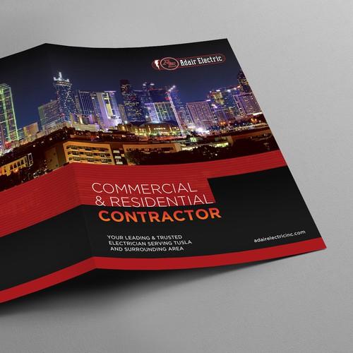 Brochure design for Adair Electric