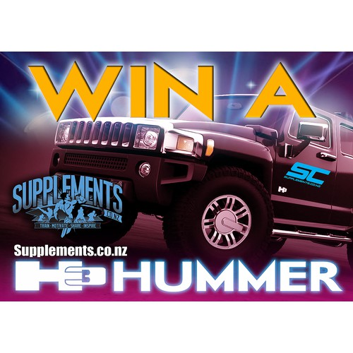 Win a H3 Hummer Poster