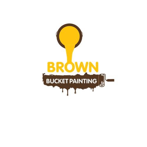 brown bucket painting