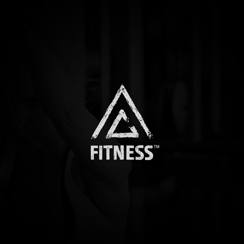 Chalk style logo for AC Fitness