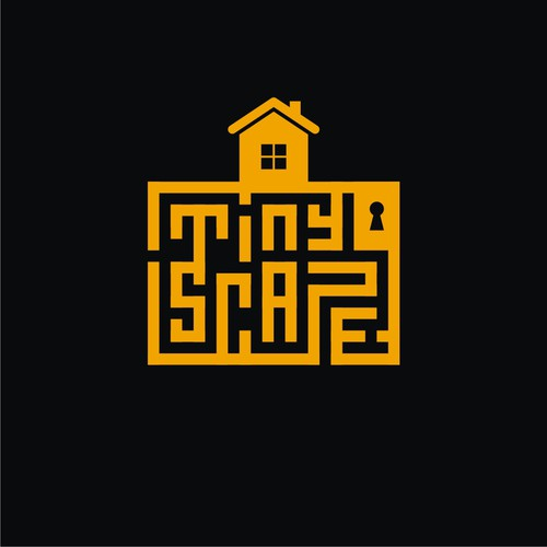 Logo concept for escape room game.