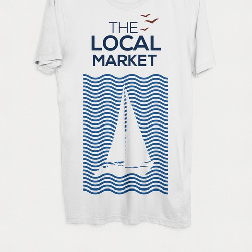 Nautical themed T-shirt