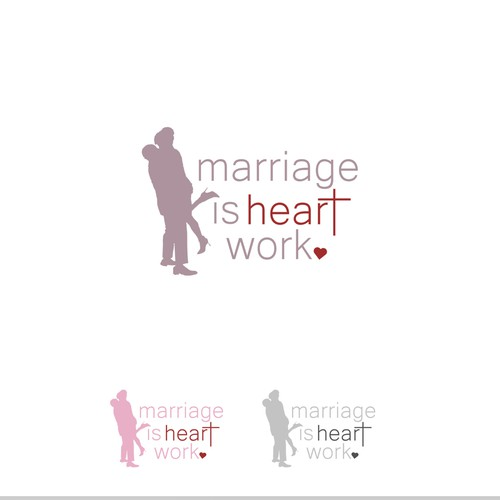 marriage is hart work logo