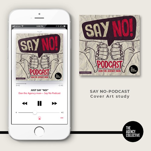Say No Podcast art cover