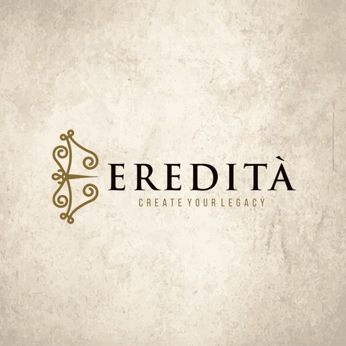 Logo Design for hand craftsmanship and high quality shoes for Eredità Shoes