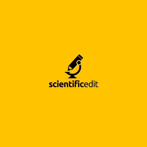 Modern logo for Scientific Edit