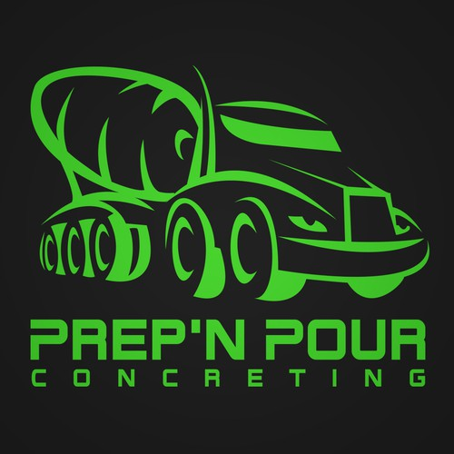 Prep'N Pour Concreting Logo (Winner)