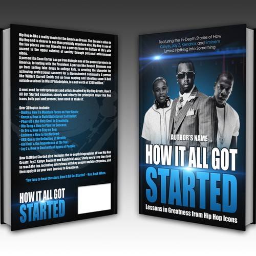 How It All Got Started book cover design