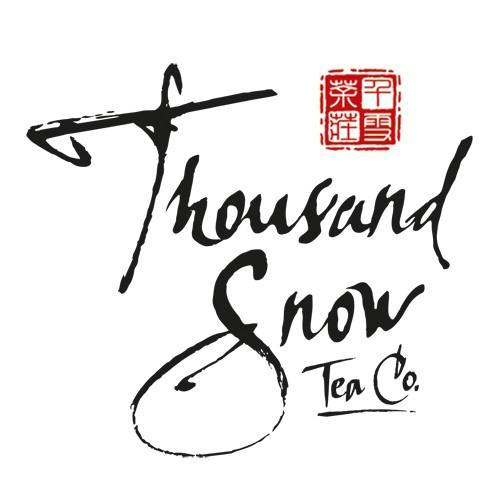 Tea Label for Thousand Snow