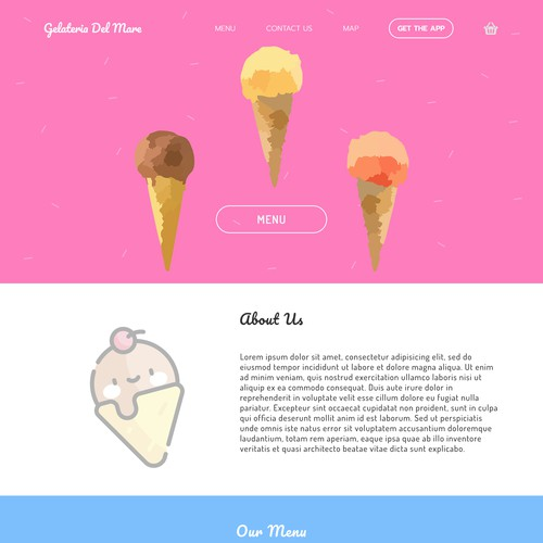 Design for an Ice Cream Company
