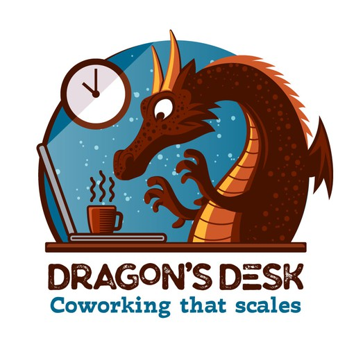 Illustrative logo for Dragon Desk