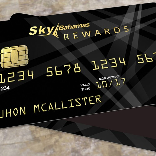 Reward card design