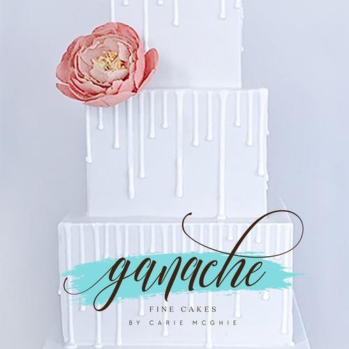 ganache fine cakes logo