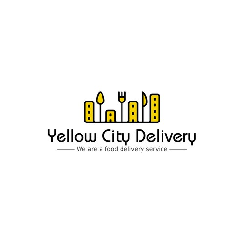 Yellow city delivered