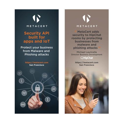 MetaCert Banner design