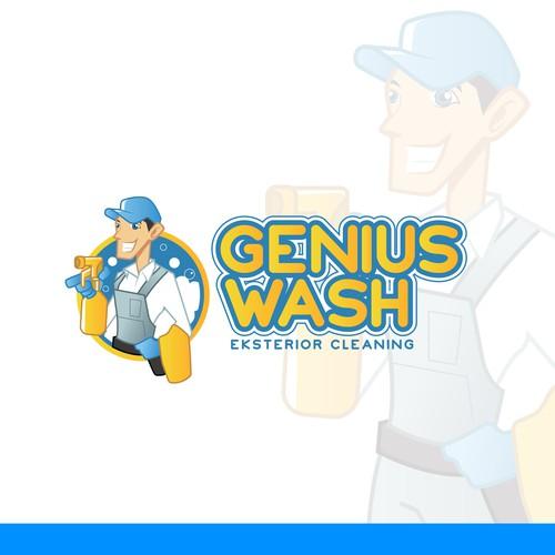 Concept design for Genius Wash