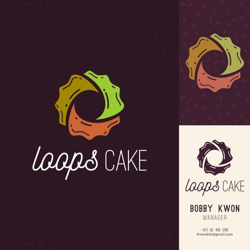 Stylish Cake Shop Logo