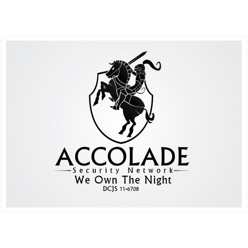 Design Accolade Security Network's new logo.