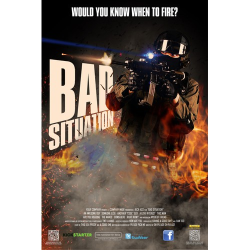 Film poster - Bad situation