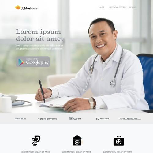 Dokter Kami Website Design
