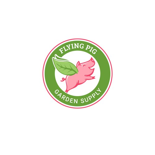 Logo concept for producer of garden supplies