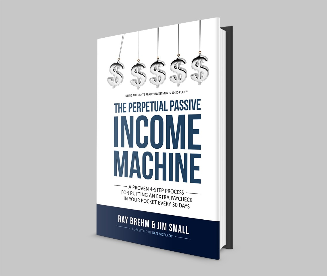 Create a captivating, original Book Cover for our New PASSIVE INCOME Book