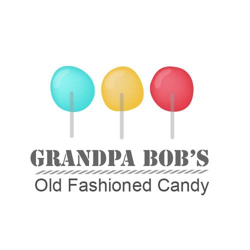 Create a logo for a potential family handmade candy shop/cart.