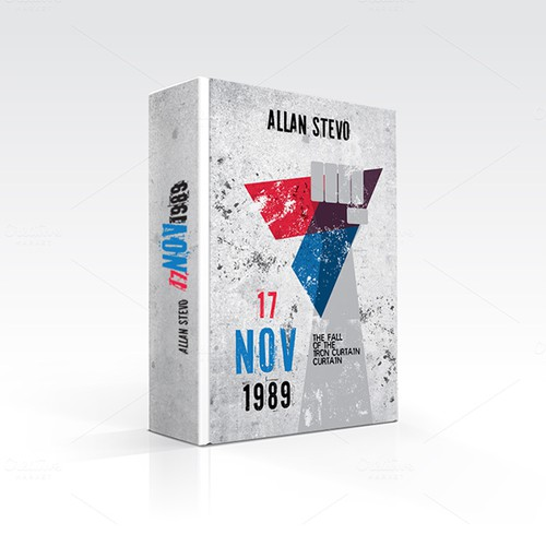 Book Cover layout for Allan Stevo