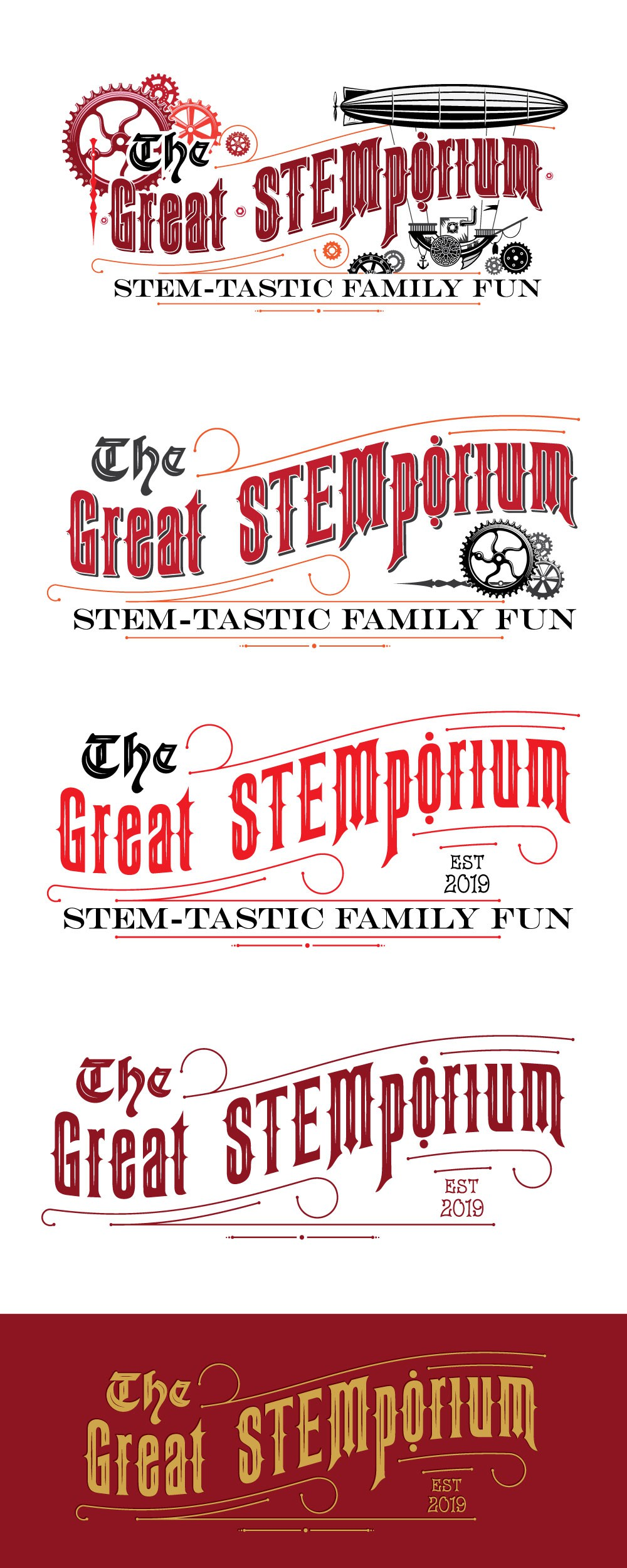 Logo for new business - The Great STEMporium