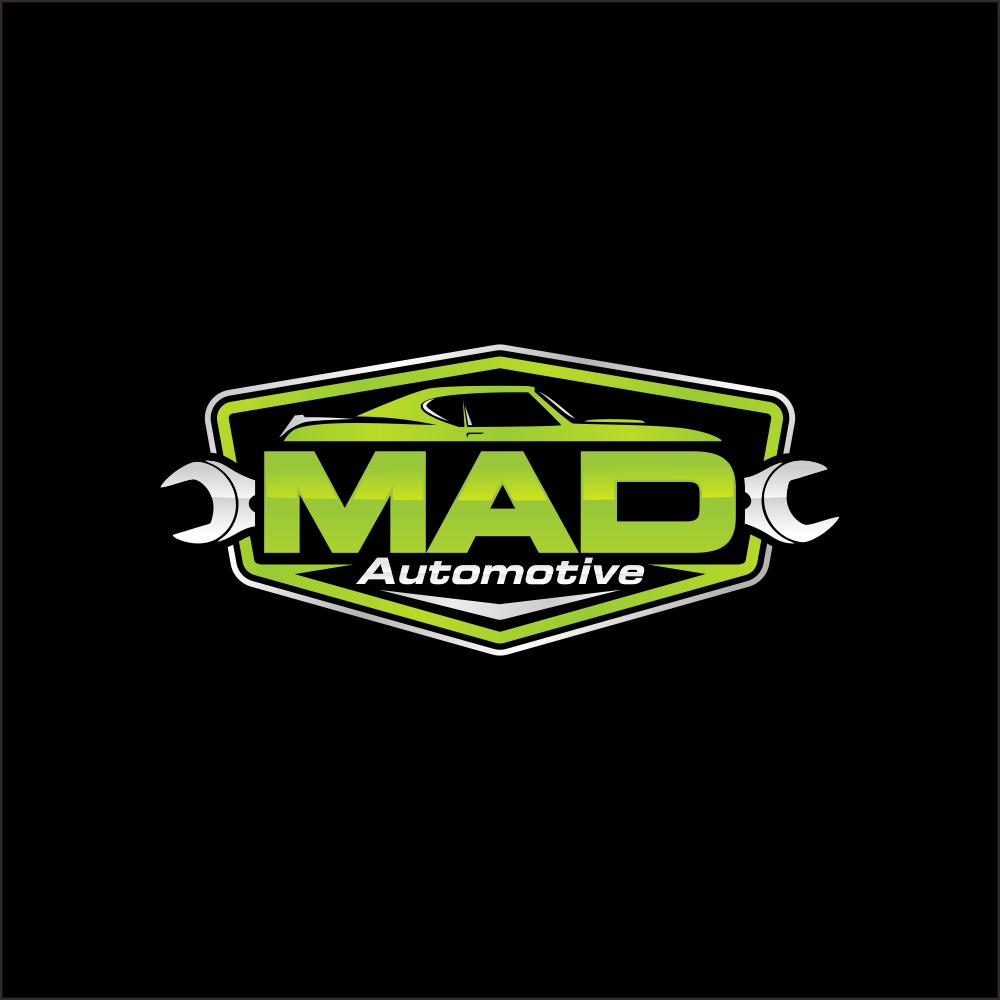 old school mechanic logo