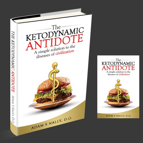 Market changing book cover for health industry
