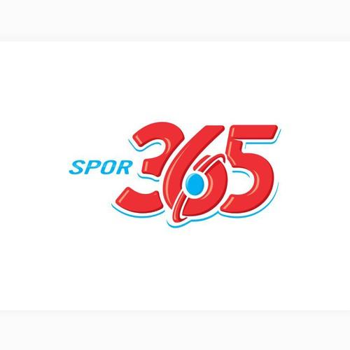 """logo for """"spor365""""   or """"365"""""""