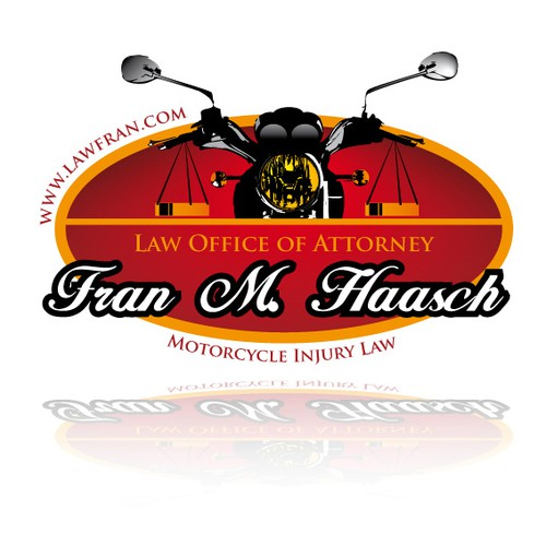 Motorcycle Injury Law Firm Needs Modern Fresh Logo
