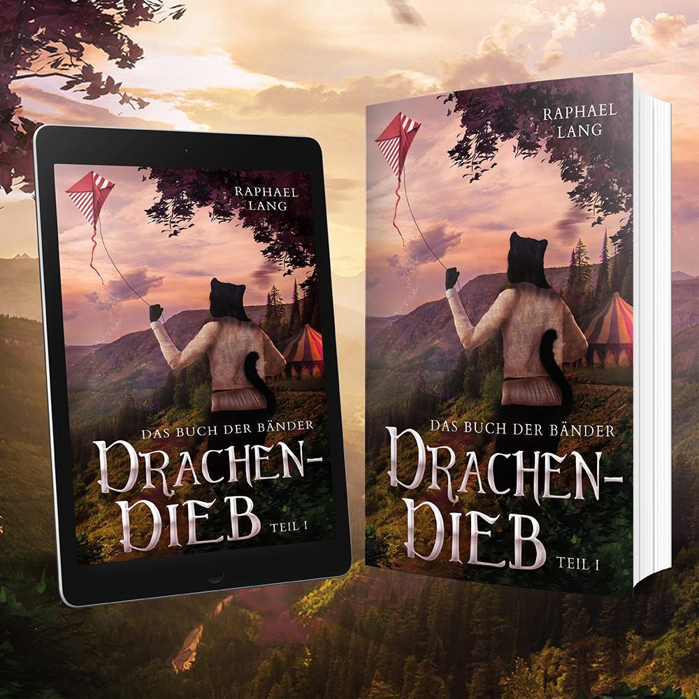 Buchcover für Fantasyroman