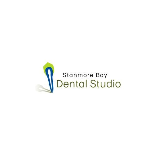 Minimal logo for a dental studio