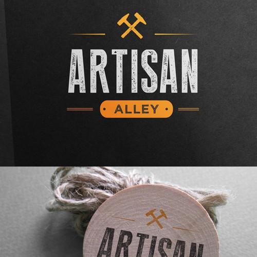 Design Hipster Logo for Artisan Alley