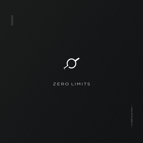 Astronomical, minimalist mark for Zero Limits