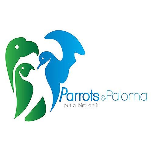 Option logo for Parrots & Paloma
